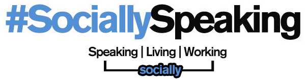 Socially Speaking Blog Logo